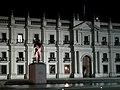 Palacio de La Moneda - Fachada norte - teatinos - 2012 09 28.JPG