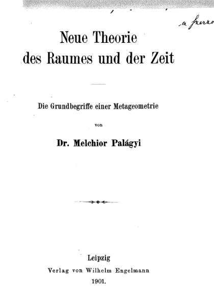 File:PalagyiRaumzeit.djvu