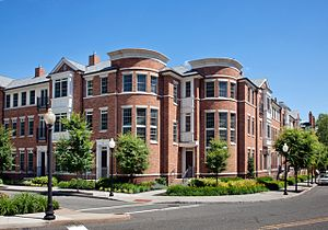 Palmer Square - New Palmer Square residential component