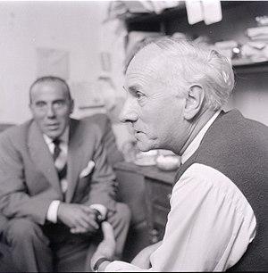 Gérard Ernest Schneider - Gérard Schneider, photo by Paolo Monti, 1961 (Fondo Paolo Monti, BEIC).