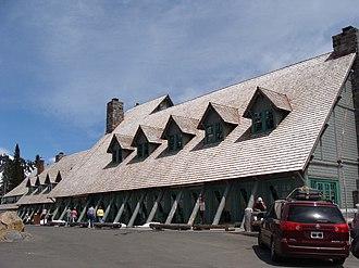 Paradise Inn (Washington) - Paradise Inn in 2008 after renovations.
