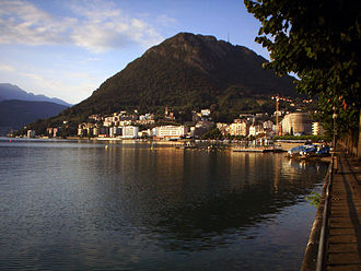 Paradiso, Ticino - Paradiso waterfront