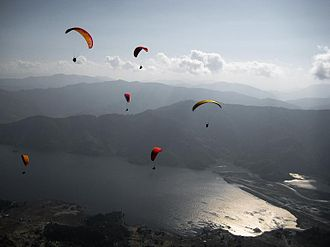 Pokhara Valley - Paragliding on Pokhara
