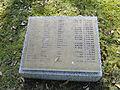 Parchim Neuer Friedhof Gedenktafel Opfer 2. Weltkrieg 2012-03-23 557.JPG