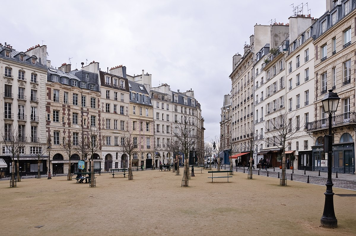 square de la place dauphine wikip dia. Black Bedroom Furniture Sets. Home Design Ideas