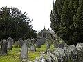 Parish church of Church of St Bridget at Llansantffraid Glyn Dyfrdwy (later re-named Carrog), Sr Ddinbych, Wales 10.jpg
