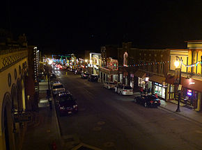 Park City Utah Looking down Main Street 2015 photo D Ramey Logan