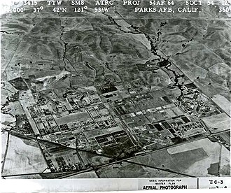 Parks Reserve Forces Training Area - Parks AFB, CA – 5 October 1954