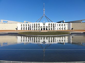 Bicameralism - The federal bicameral Parliament of Australia, which contains a House of Representatives and a Senate