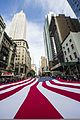 Participants carry a U.S. flag up Fifth Avenue in New York Nov. 11, 2013, during a Veterans Day parade as part of Veterans Week NYC 131111-N-UE577-610.jpg