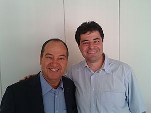 Social Christian Party (Brazil) - Pastor Everaldo Pereira (left)