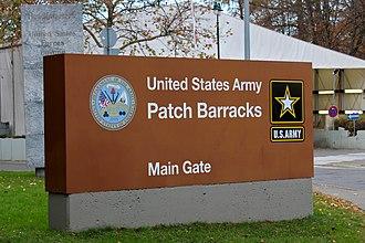 Patch Barracks - Main entrance