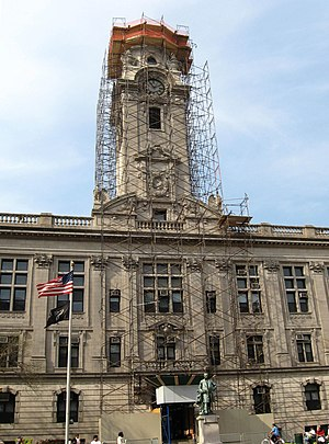 Paterson City Hall - Image: Paterson City Hall 2008 jeh