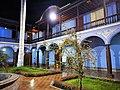 Pati de la Casona San Marcos de Lima de nit.jpg