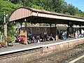 Patient passengers on Bewdley Station - geograph.org.uk - 1454699.jpg