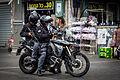 Patrouille police Yasam BMW F800GS Jérusalem juillet 2014.jpg