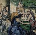 Paul Cézanne - The Courtesans (Les Courtisanes) - BF796 - Barnes Foundation.jpg