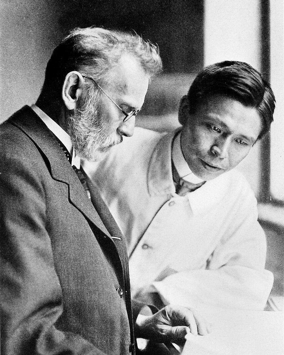 Paul Ehrlich and Sahachiro Hata