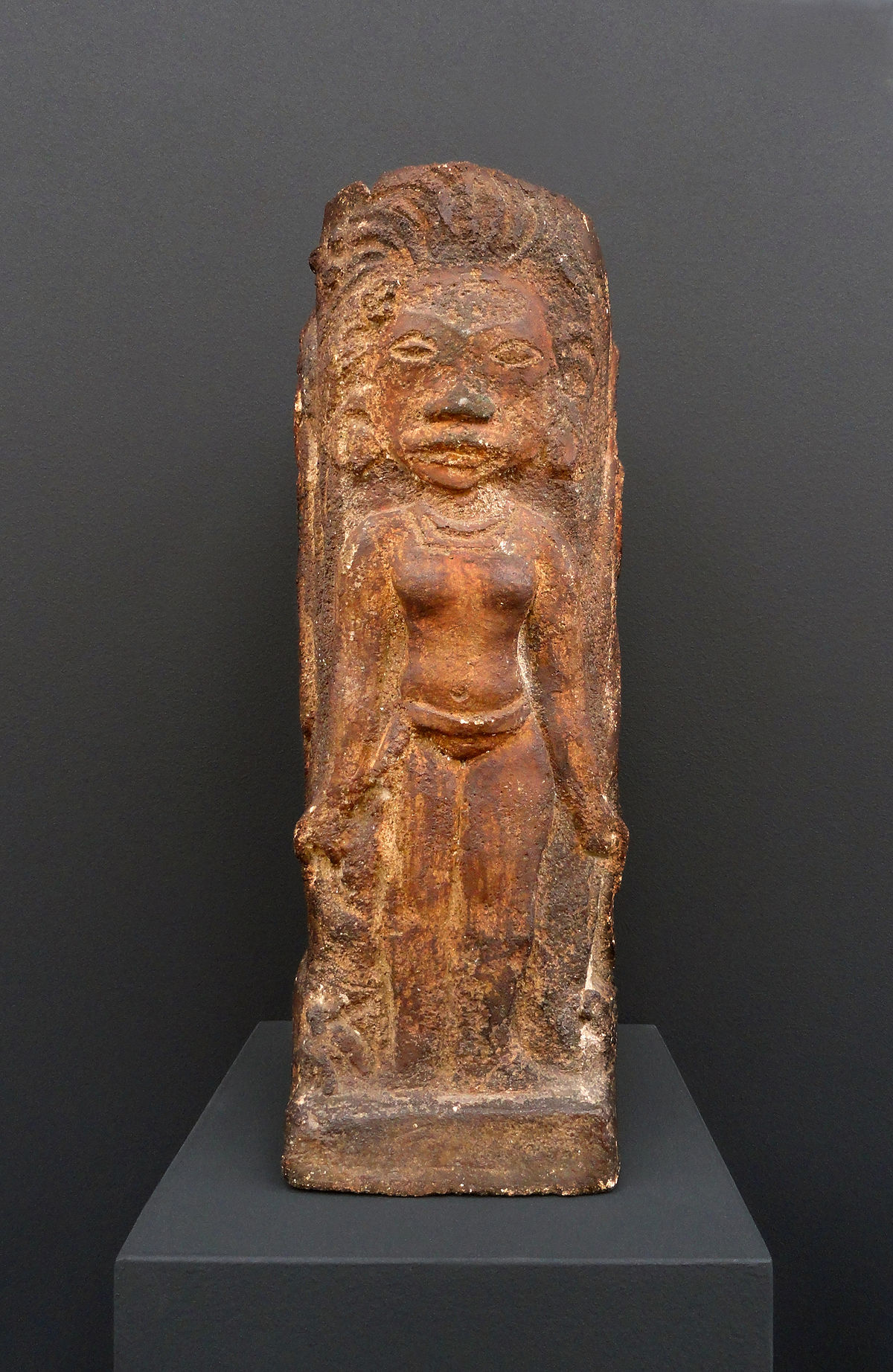 Objet D 233 Coratif Carr 233 Avec Dieux Tahitiens Wikipedia