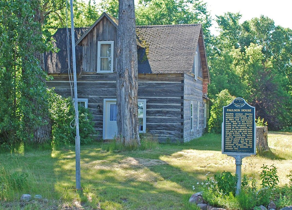Au Train Mi >> Paulson House (Au Train, Michigan) - Wikipedia