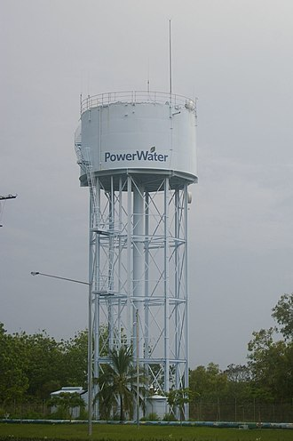 Power and Water Corporation - Stuart Park Water Tower