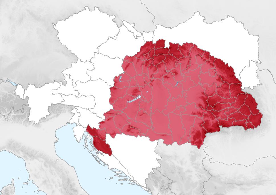 Pays de la Couronne de saint Étienne 1914