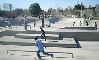 Victory Boulevard (Los Angeles) - Pedlow Skate Park, in Encino.