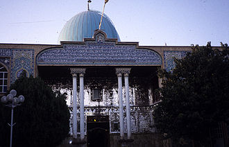 Qazvin - Peighambariyeh, burial place of four Jewish saints: Salam, Solum, al-Qiya, and Sohuli.