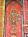Peinture sur un pilier de l'église.jpg