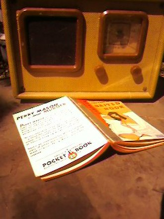 Perry Mason (radio series) - Image: Perrymason book radio