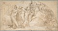Perseus Beheading Medusa (recto); Studies of a Child and Ornament Sketches (verso) MET DP808281.jpg