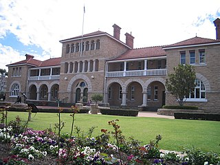 the historic building of the Perth Mint