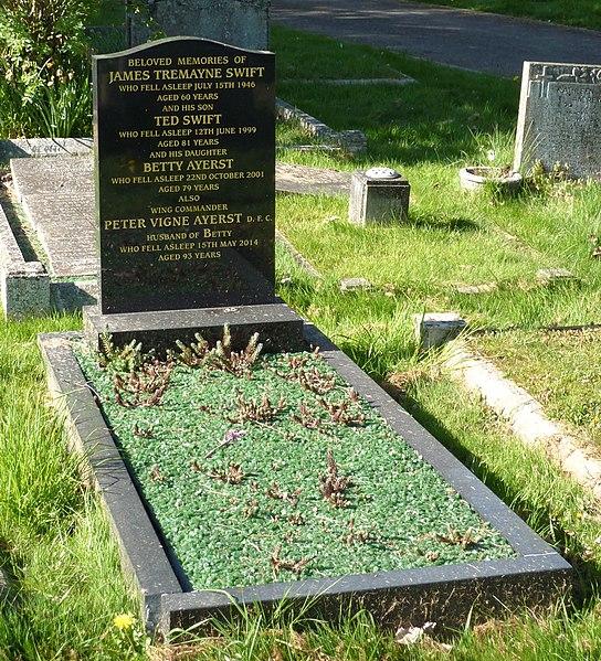 File:Peter Ayerst grave Canterbury 2017.jpg