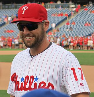 Peter Bourjos - Bourjos with the Phillies 2016