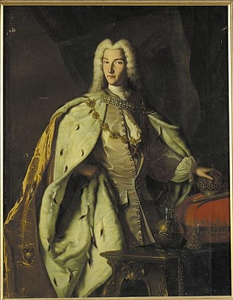 Peter II of Russia - Image: Peter II after Ludden, German school (priv.coll)