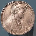 Peter vischer su dis di dürer, medaglia di willibal pirckheimer, norimberga 1517.JPG