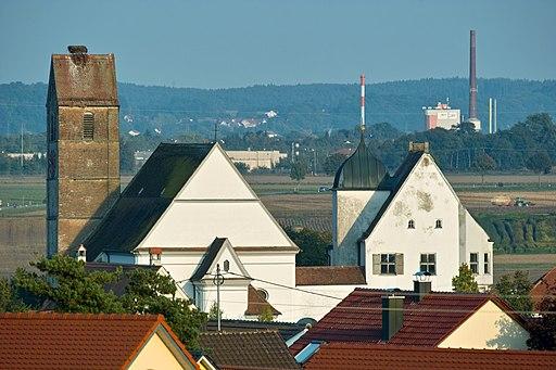 Pfarrkirche und Fuggerschloß 2