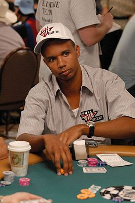 Ivey tijdens de World Series of Poker 2007