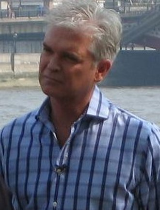 Dancing on Ice - Image: Philip Schofield (cropped)