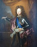 Philippe d'Orléans, Duke of Chartres wearing the Order of the Holy Spirit by Hyacinthe Rigaud.jpg