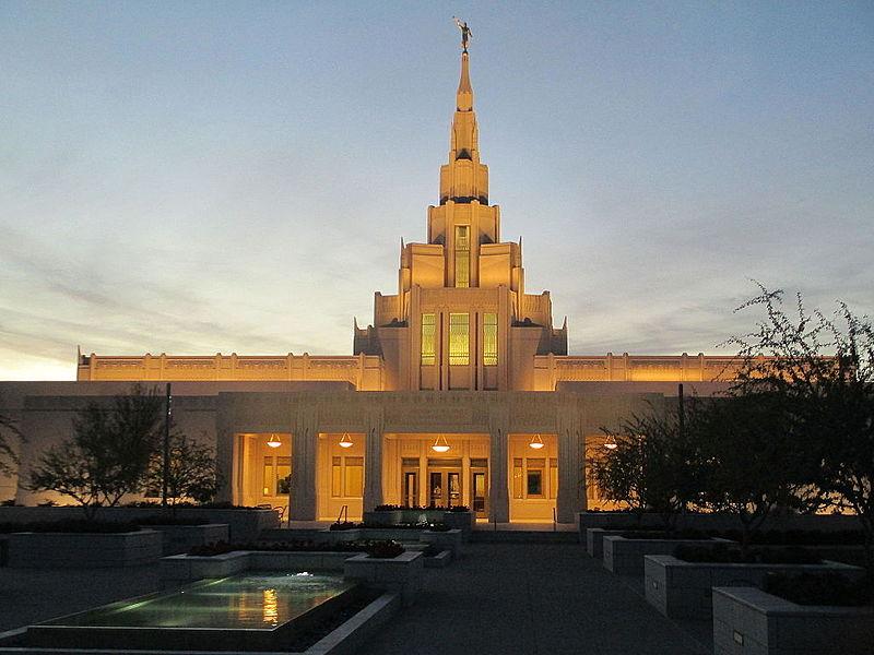 Phoenix, AZ Temple - Completed.JPG