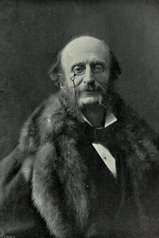 Photograph of Jacques Offenbach