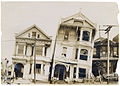 Photograph of the Effect of Earthquake on Houses Built on Loose or Made Ground After the 1906 San Francisco Earthquake, 1906.jpg
