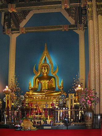 Wat Benchamabophit - Image: Phrapuddhajinnarat