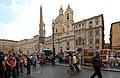 Piazza Navona, Sant'Agnese in Agone e la Fontana dei Quattro Fiumi - panoramio.jpg