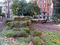 Piazza fanti, resti dell'agger delle mura serviane 03.JPG
