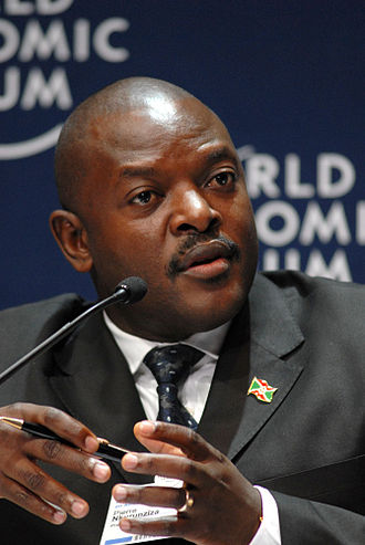 Burundian unrest (2015–present) - President Pierre Nkurunziza, pictured in 2008