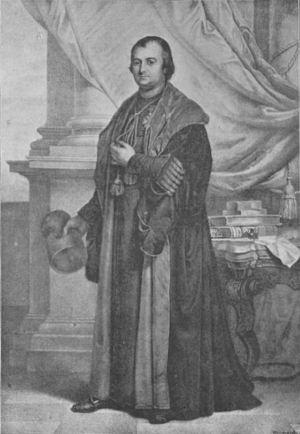 Pierre François Xavier de Ram - Monseignor Peter de Ram, the first rector of the Catholic University of Mechlin and in 1835 the first rector the new Catholic University of Leuven.