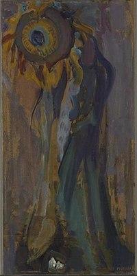 Piet Mondriaan - Dying sunflower I - 0334281 - Kunstmuseum Den Haag.jpg
