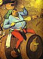 Pieter Bruegel the Elder- The Fight between Carnival and Lent detail 2.JPG